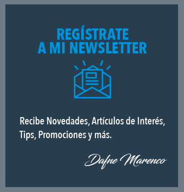 Registro Newsletter Dafne